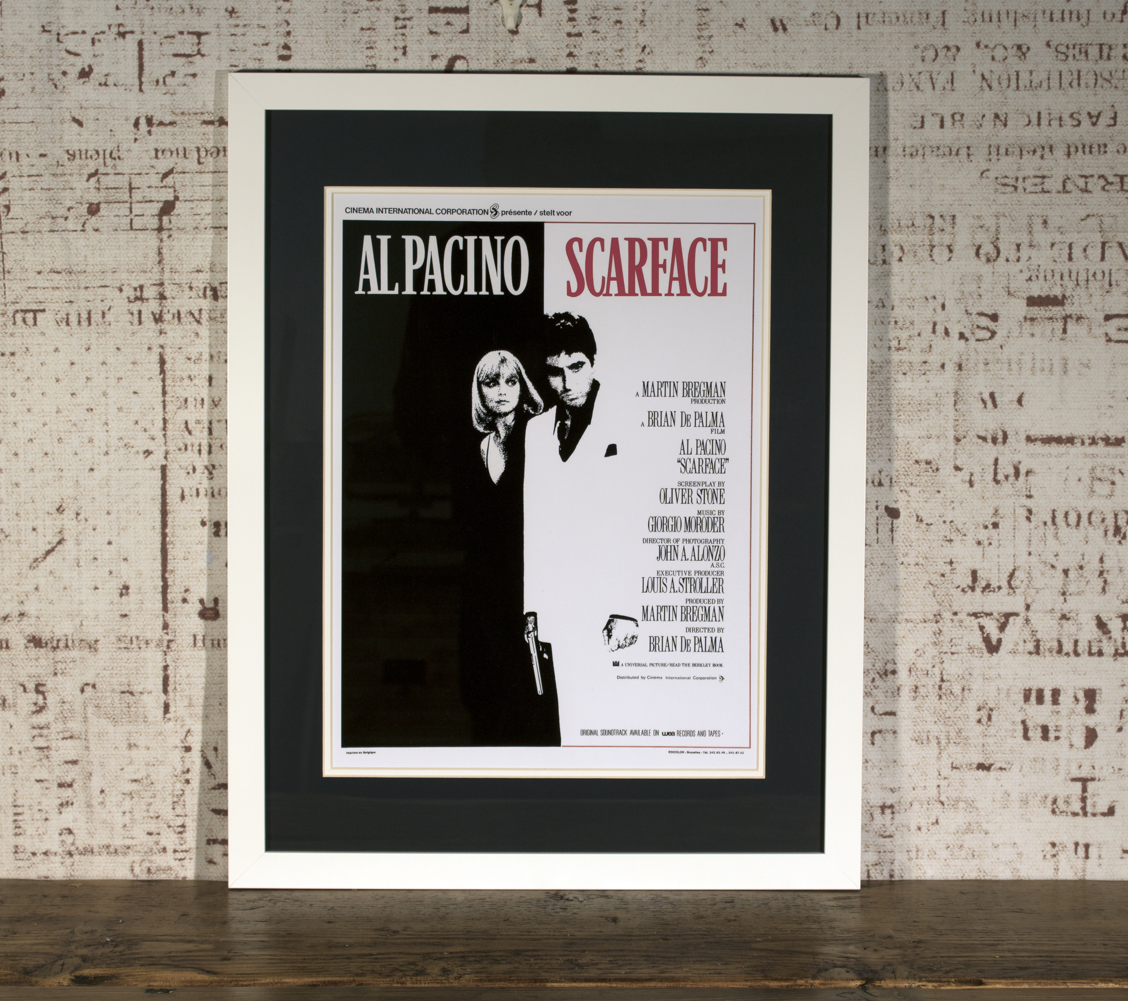 Scarface posters framed for sale